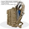 Maxpedition Falcon-II Tactical Backpack Dimensions Hydration Pocket
