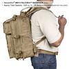 Maxpedition Falcon-II Tactical Backpack Dimensions Worn Side